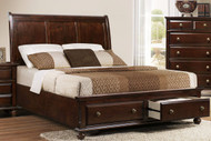 Portsmouth Queen platform storage bed