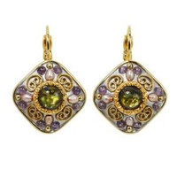MICHAL GOLAN VINTAGE VIOLET EARRINGS S3852