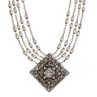 MICHAL GOLAN BRIDAL CRYSTAL NECKLACE N2288