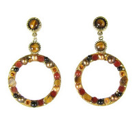 Michal Golan Red Rock Earrings S7171