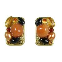 Michal Golan Red Rock Earrings