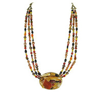Michal Golan Red Rock Necklace N2150