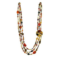 Michal Golan Red Rock Necklace