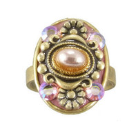Michal Golan Pretty In Pink Ring