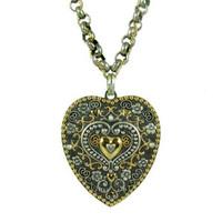 Michal Golan Silverado Heart Pendant