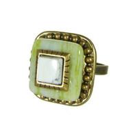 Michal Golan Key Lime Ring