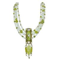 Michal Golan Key Lime Necklace