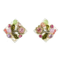 Michal Golan Pearl Blossom Earrings S6474