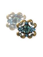 **SPECIAL ORDER**Sorrelli Aqua Bubbles Crystal Earrings