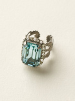 **SPECIAL ORDER**Crystal Rock Ring by Sorrelli~RCF9ASCRO