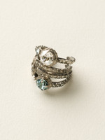 **SPECIAL ORDER**Crystal Rock Ring by Sorrelli~RCG18ASCRO