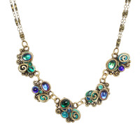 Michal Golan Emerald Collection Necklace~WN3722