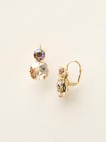 Sorrelli Sand Dune Crystal Earrings~ECL4BGDCH