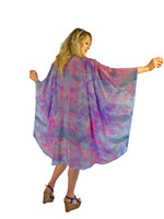 Hand Painted Silk Wrap~Franklin Street Studio~F1012