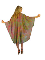 Hand Painted Silk Wrap~Franklin Street Studio~FS1017