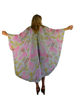 Hand Painted Silk Wrap~Franklin Street Studio~FS1025
