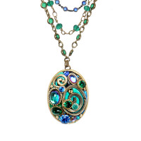 Michal Golan Emerald Collection Necklace~N3732