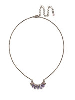 **SPECIAL ORDER**PURPLE LOTUS Crystal Necklace By Sorrelli~NDN77ASPUL