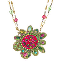 Michal Golan Abstract Flower Necklace