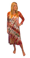 Ice Tye Dye Midi Dress by Martha~Autumn