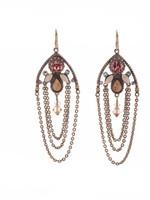 **SPECIAL ORDER**Sorrelli Rustic Bloom Crystal Earrings~EDN101AGRB