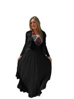 Luna Luz Black Linen Jacket~726