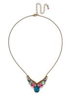 Sorrelli Happy Birthday Crystal Necklace~NDQ40AGHB