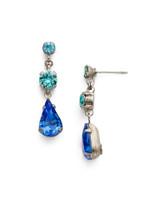 **SPECIAL ORDER** ULTRAMARINE Crystal Earrings by Sorrelli~EDN48ASUM
