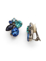 **SPECIAL ORDER** ULTRAMARINE Crystal Clip Earrings by Sorrelli~EDG11CASUM