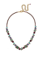 **SPECIAL ORDER** Jewel Tone Crystal Necklace by Sorrelli~NCF6AGJT