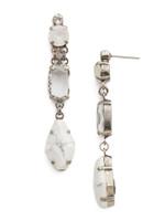 Sorrelli White Howlite Earrings~EDK67ASWH