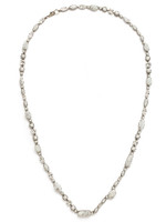 Sorrelli White Howlite Necklace~NBC20ASWH
