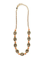 CORAL REEF CRYSTAL NECKLACE BY SORRELLI ~NCU5BGCOR