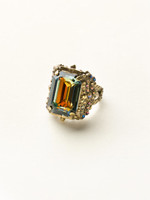 Sorrelli Volcano Crystal Ring ~RCK2AGVO