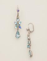 Sorrelli Running Water Crystal Earrings~ECR30ASRW