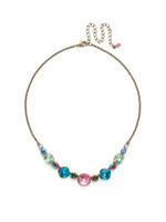 *SPECIAL ORDER** Sorrelli Happy Birthday Crystal Necklace~ NDQ51AGHB
