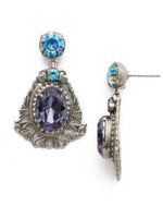 Sorrelli Moonlit Shores Crystal Earrings~ EDS4ASMLS
