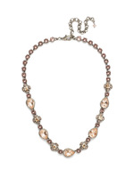 *SPECIAL ORDER**Sorrelli Satin Blush Crystal Necklace~NDT9ASSBL