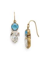 ***SPECIAL ORDER***DENIM BLUE Crystal Earring by Sorrelli~EDH62AGSMR