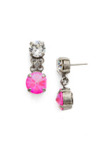 *SPECIAL ORDER**PINK MUTINY CRYSTAL EARRINGS BY SORRELLI~EDH97ASPMU