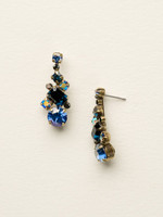 **SPECIAL ORDER**DRESS BLUES CRYSTAL EARRINGS BY SORRELLI~ECF6AGDBL
