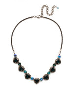**SPECIAL ORDER**BLUE SUEDE NECKLACE BY SORRELLI~NDX8ASBSD