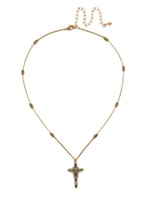 **SPECIAL ORDER**SANDSTONE NECKLACE BY SORRELLI~NDQ54AGSTN
