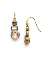 **SPECIAL ORDER**SANDSTONE EARRING BY SORRELLI~EDS32AGSTN