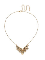 **SPECIAL ORDER**  NEUTRAL TERRITORY CRYSTAL NECKLACE BY SORRELLI~NDK28AGNT