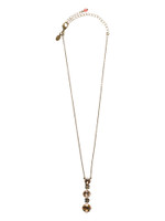 SORRELLI ANDALUSIA CRYSTAL NECKLACE~ NCF21AGAND