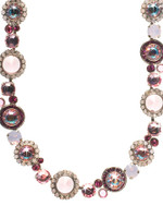 SORRELLI SWEET HEART CRYSTAL NECKLACE ~NCE12ASSWH