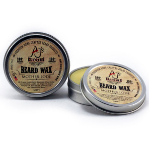 AJ's Elixirs Original Beard Wax delivers volume and great hold while feeling natural and product-free.
