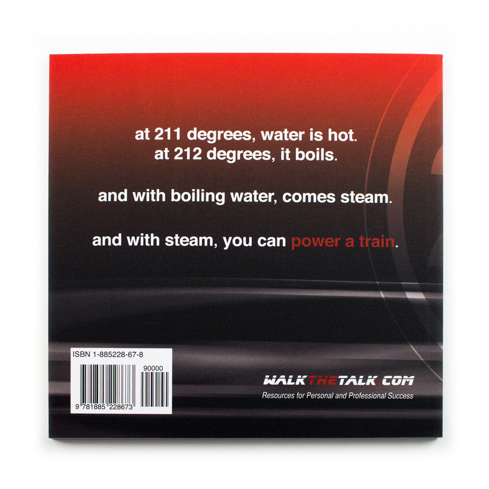 212° the extra degree Book (no stickers)