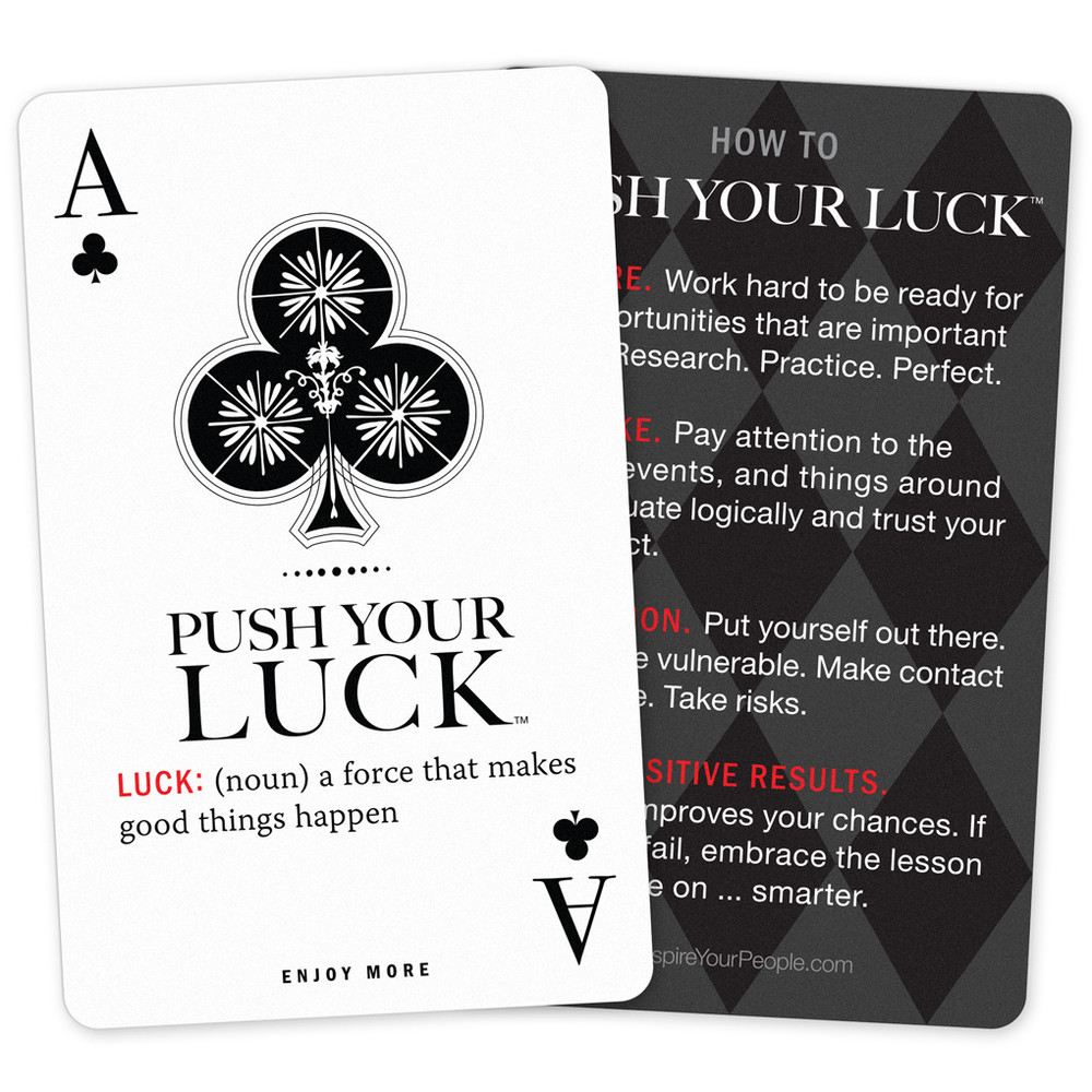Push Your Luck Pocket Cards (10 pack)